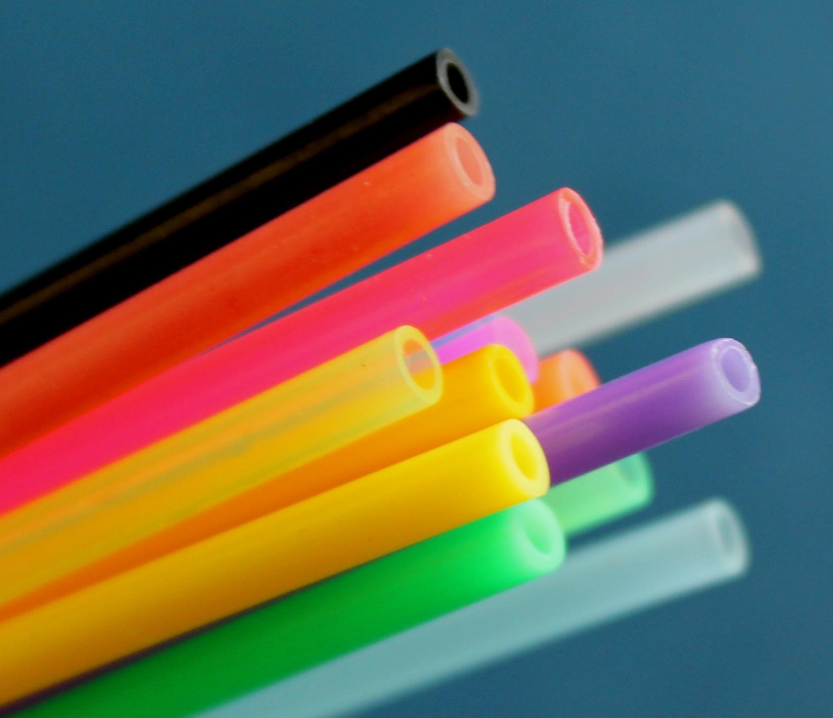 Scandinavian plastic tubing for tube flies large diameter